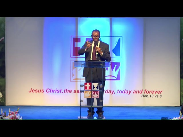 SUNDAY SERVICE 6TH SEPTEMBER (FIRST SHIFT)