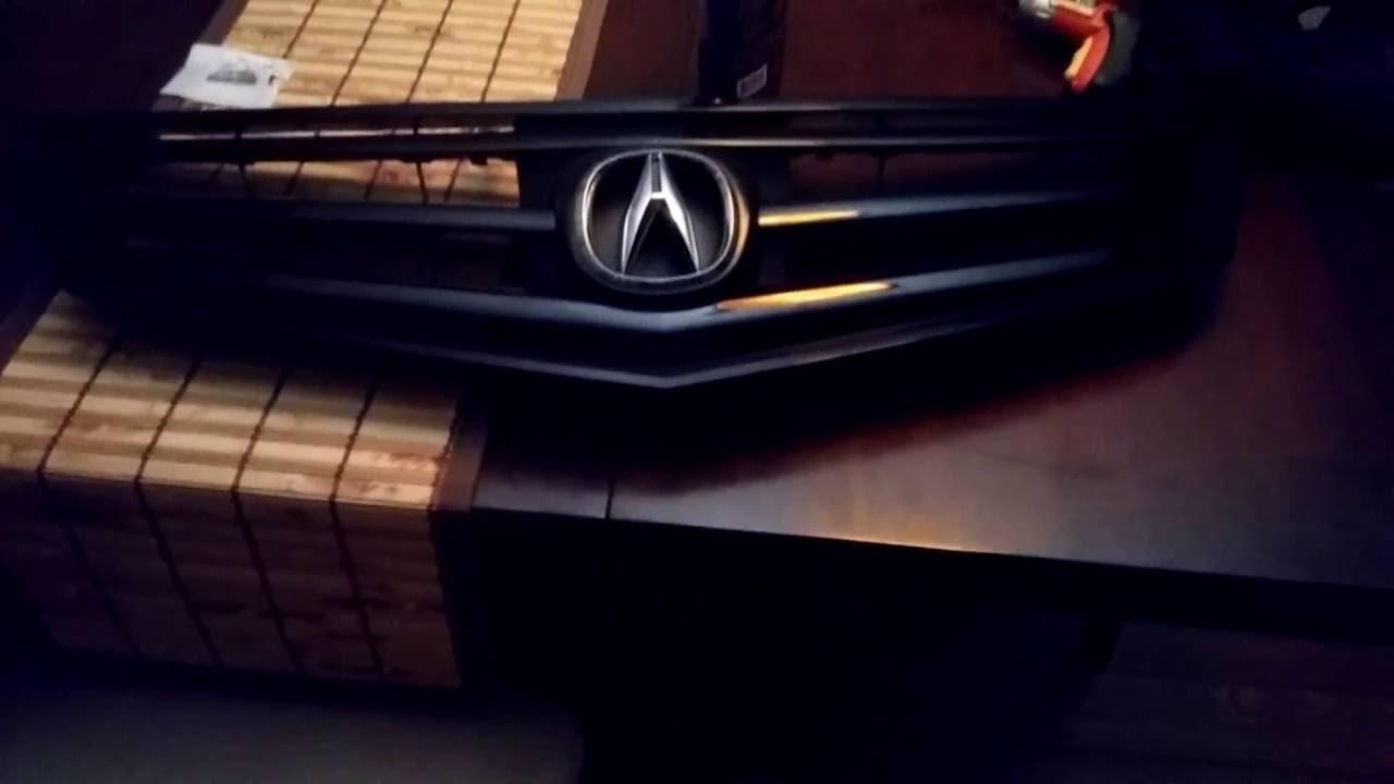 ACURA TSX CU Grill Conversion YouTube - Acura tsx grill
