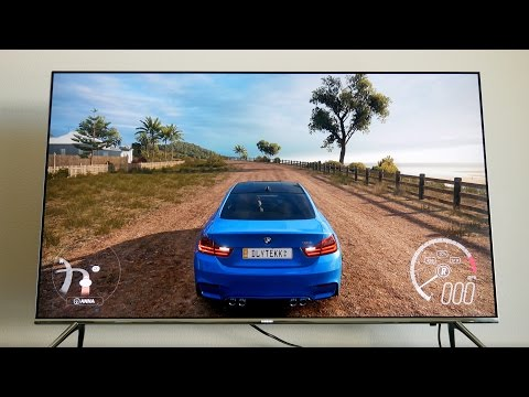 HDR Gaming: Xbox One S + Forza Horizon 3 + Samsung KS8000