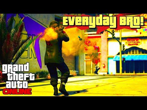 It's everyday bro! GTA 5 Online | PS4 Pro