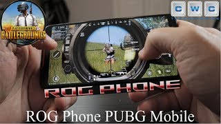PUBG Mobile on ROG Phone 90Hz Best Gaming Phone!