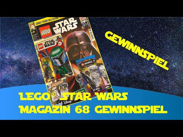 Lego Star Wars Heft 68 Minifigur Mandalorianerin (Lego Star Wars Magazin 68) -Gewinnspiel