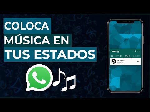 Como Poner Música en los Estados de WhatsApp con Imagen