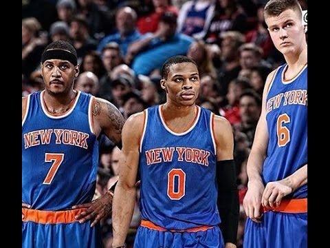 Russell Westbrook Trade RUMORS: LA Lakers, NY Knicks?!?