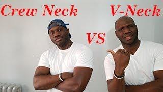 Crew Neck Vs V-Neck