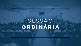 Sessão Ordinária - 09.07.19