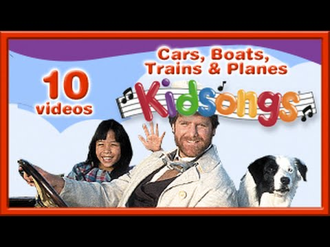 Cars, Boats,Trains and Planes | Kidsongs | Car Songs for Kids | Row, Row, Row Your Boat | PBS Kids