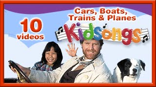 Cars, Boats, Trains and Planes by Kidsongs | Top Nursery Rhymes