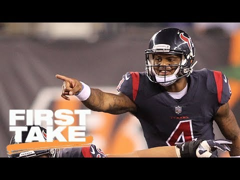 First Take analyzes Bengals loss to Texans on Thursday ...