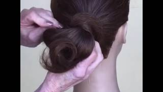 10 minute simple up-do | Sharon Blain