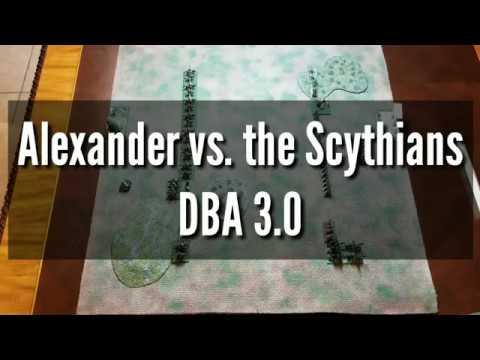 Alexander vs the Scythians DBA 3.0