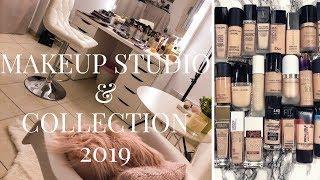 ΣΥΛΛΟΓΗ+ΟΡΓΑΝΩΣΗ ΚΑΛΛΥΝΤΙΚΩΝ/Makeup Studio tour 2019(+GIVEAWAY)