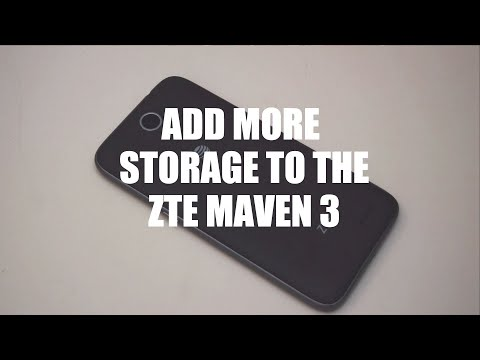 Add more storage to your ZTE Maven 3