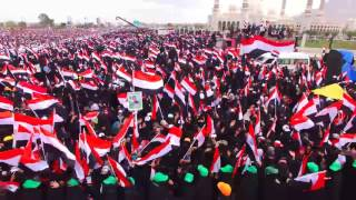 Over 100,000 Gather in Sanaa to Commemorate Second Anniversary of Civil War
