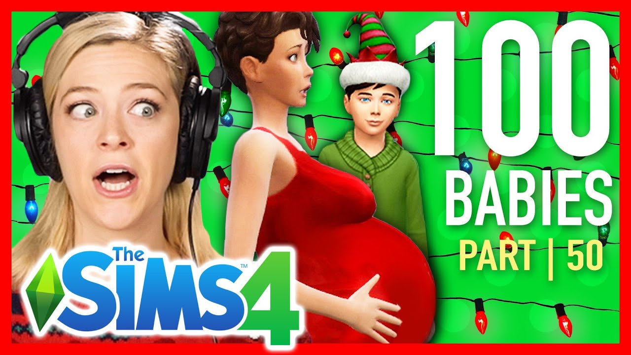 Single Girl Throws Her First Christmas In The Sims 4 | Part 50 thumbnail