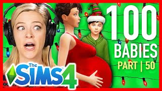 Single Girl Throws Her First Christmas In The Sims 4 | Part 50