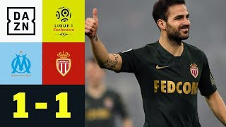 Remis beim Debüt von Cesc Fabregas: Olympique Marseille - AS Monaco 1:1 | Ligue 1 | DAZN Highlights