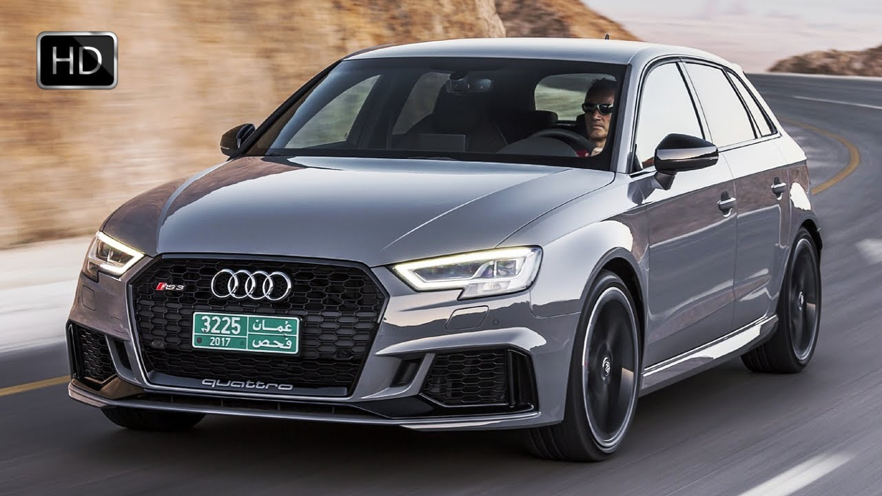 2018 Audi Rs 3 Sportback Nardo Grey Exterior Interior Design Driving Footage Hd