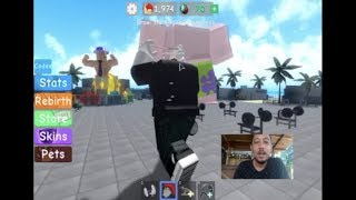 Dad and his main game with Roblox, a lot of fun