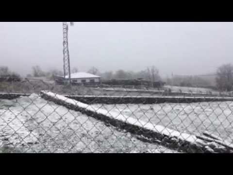 Nieve en La Hoya y Vallejera