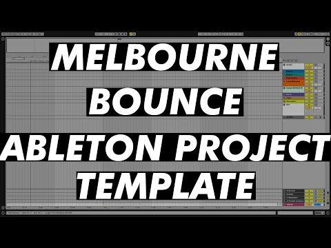 FREE MELBOURNE BOUNCE TEMPLATE