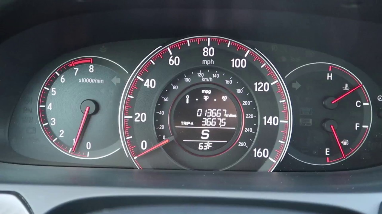 2016 Honda Accord Sport 0 60 Acceleration