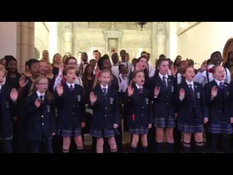 Zulu Hymn sung by school children in Pretoria