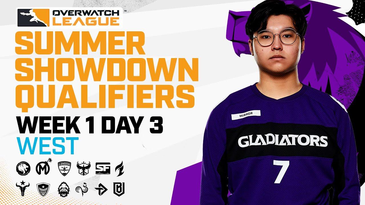 Overwatch League 2021 Season | Summer Showdown Qualifiers | Week 1 Day 3 — West