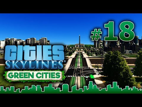 Cities Skylines GREEN CITIES – Grandes Obras #18 - CONSUMO RESPONSABLE, HOY 2X1 - Gameplay Español