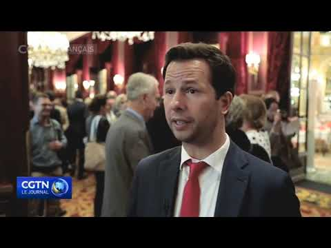 Le Chinese Business Club au JT de CGTN