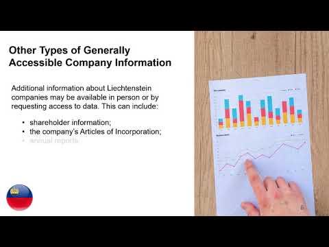 Obtain Information About Companies in Liechtenstein