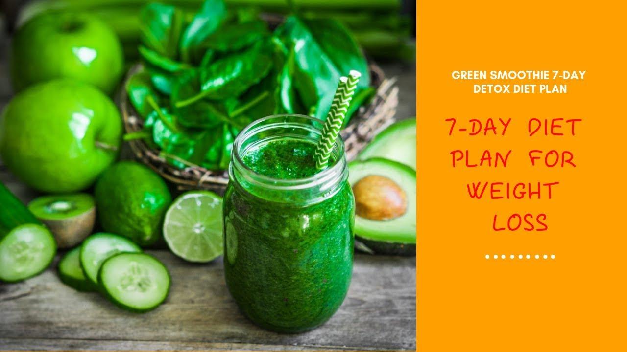 Green Smoothie 7 Day Detox Diet Plan Review - 7-Day Diet