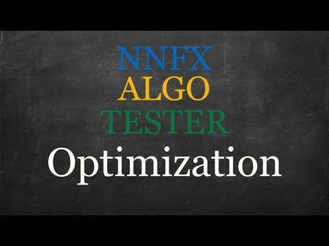 NNFX ALGO TESTER Optimization V15.00