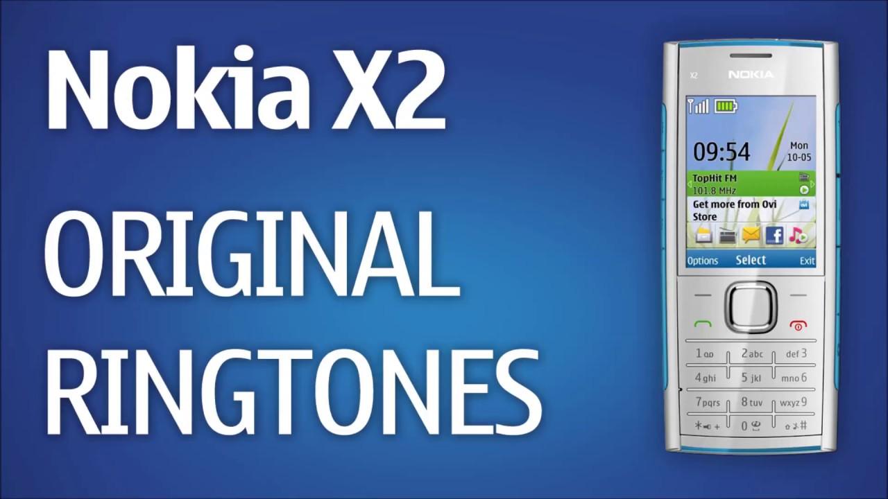 Nokia X2 Ringtones Original Youtube 00
