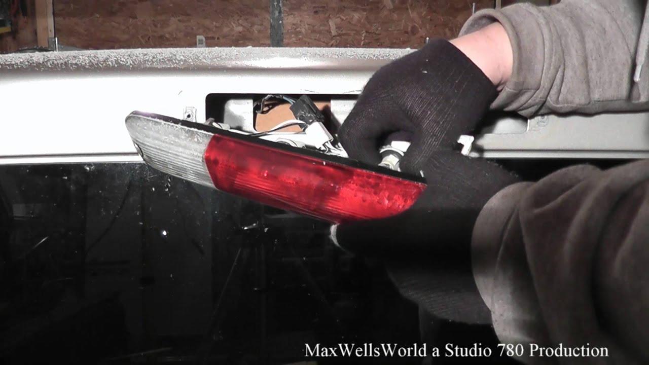 changeing a high mount 3rd brake light on a gmc canyon maxwellsworld ...