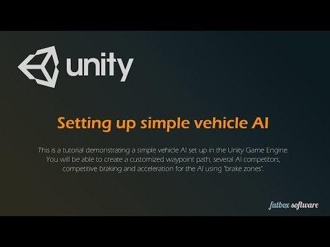 Setting Up Simple Vehicle AI - Unity Engine