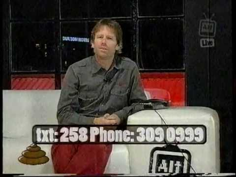 A prank caller calls into a show so much that the host starts enjoying it
