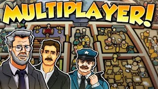 MULTIPLAYER CHAOS! - Prison Architect Multiplayer Gameplay