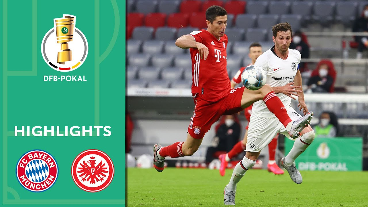 FC Bayern Munich vs. Eintracht Frankfurt 2-1 | Highlights | DFB-Pokal 2019/20 | Semi Finals