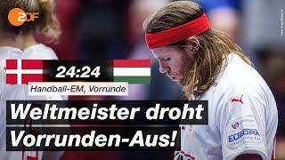 Dänemark - Ungarn 24:24 - Highlights | Handball-EM 2020 - ZDF