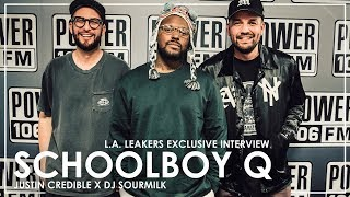 Schoolboy Q On The Passing of Nipsey Hussle & Working w/ Travis Scott on \
