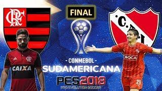 Flamengo VS. Independiente (13/12/2017) Copa Conmebol Sul-Americana [FINAL] PES 2018