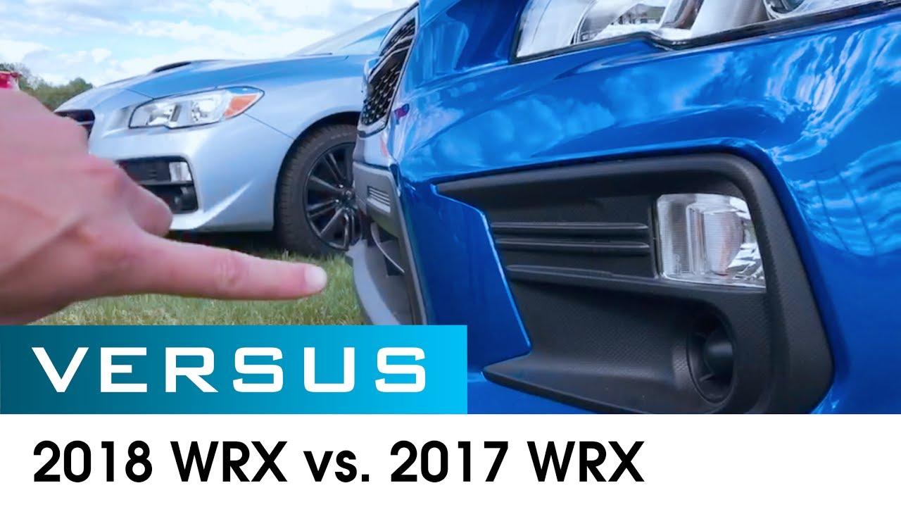 Versus 2017 Vs 2018 Wrx Ers Subaru Macomb Mi