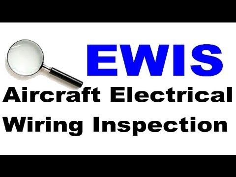 EWIS Aircraft Electrical Wire Interconnection System Inspection