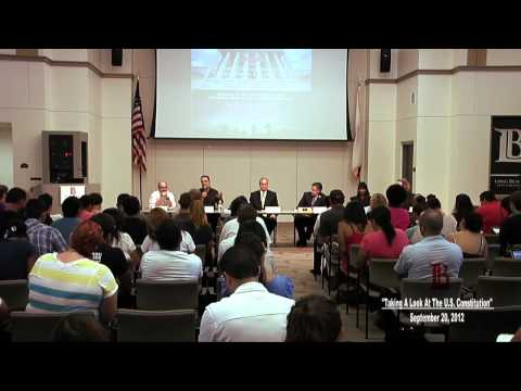 LBCC -  A Panel Discussion on the United States Constitution