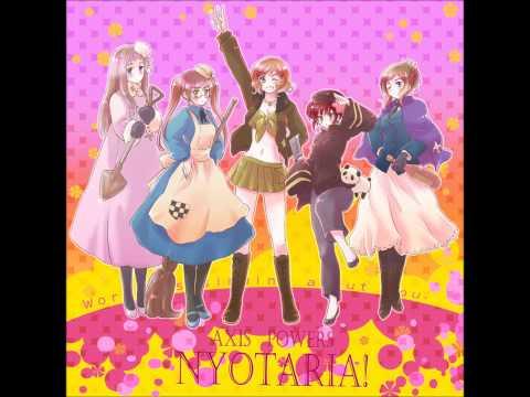 HETALIA Female Allies - UNITED NATIONS ☆ STAR (english lyrics)