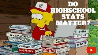 College Baseball Recruiting - Do High School Stats Matter?
