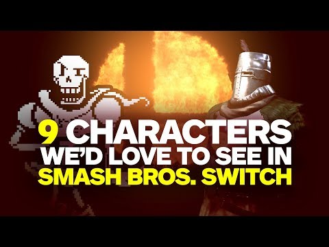 9 Characters Wed Love to See in Smash Bros Switch