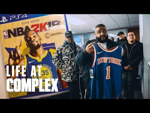 DJ KHALED & NIKE TAKE OVER THE COMPLEX OFFICE!   #LIFEATCOMPLEX