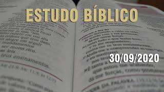 Estudo Bíblico (Carta aos Romanos - Capítulo 12) - 30/09/2020
